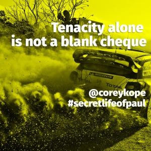 tenacity alone square