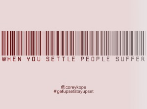 People suffer