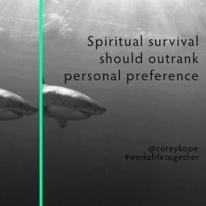 Spiritual Survival Sq.