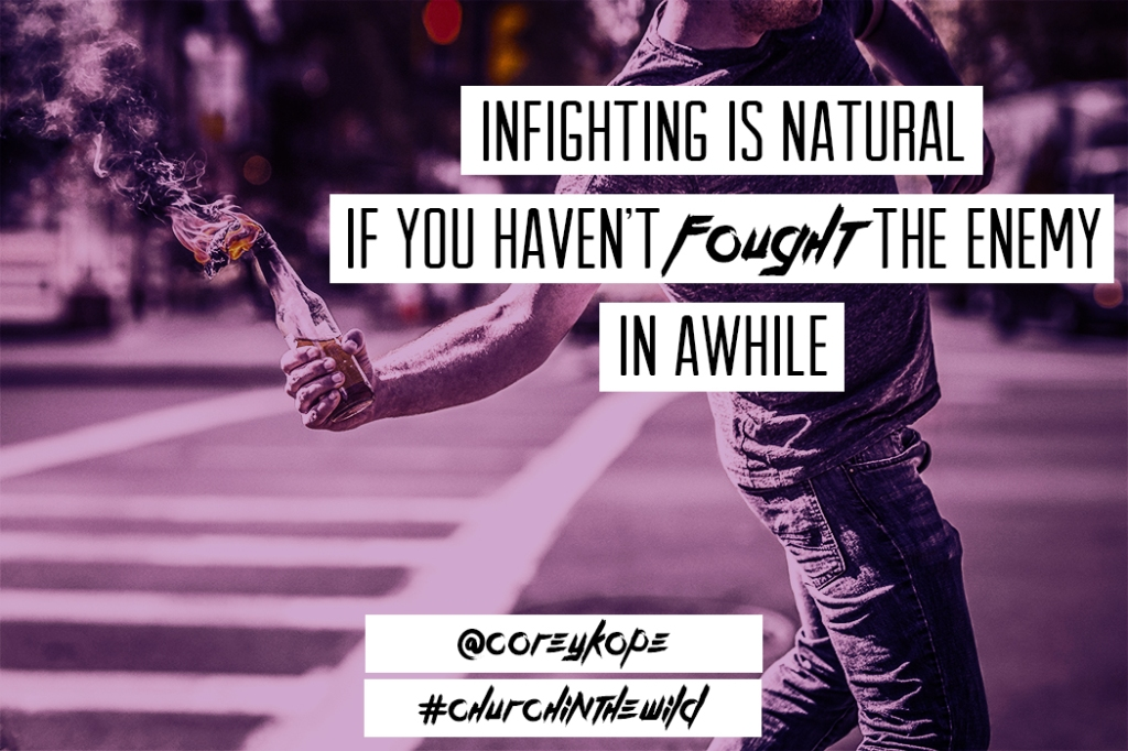 infighting is natural if..