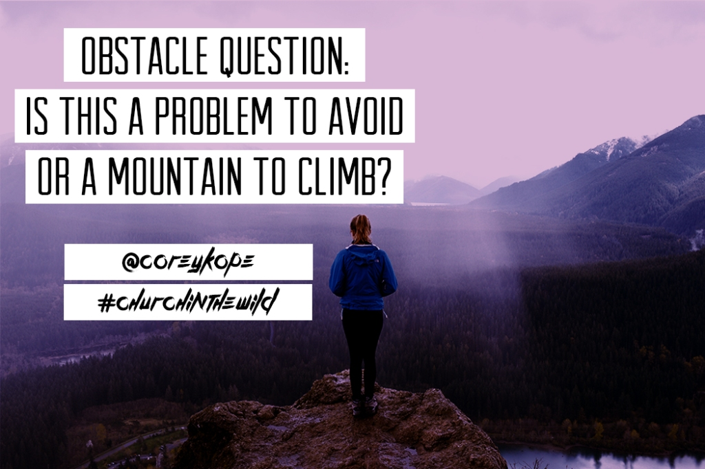 Obstacle question