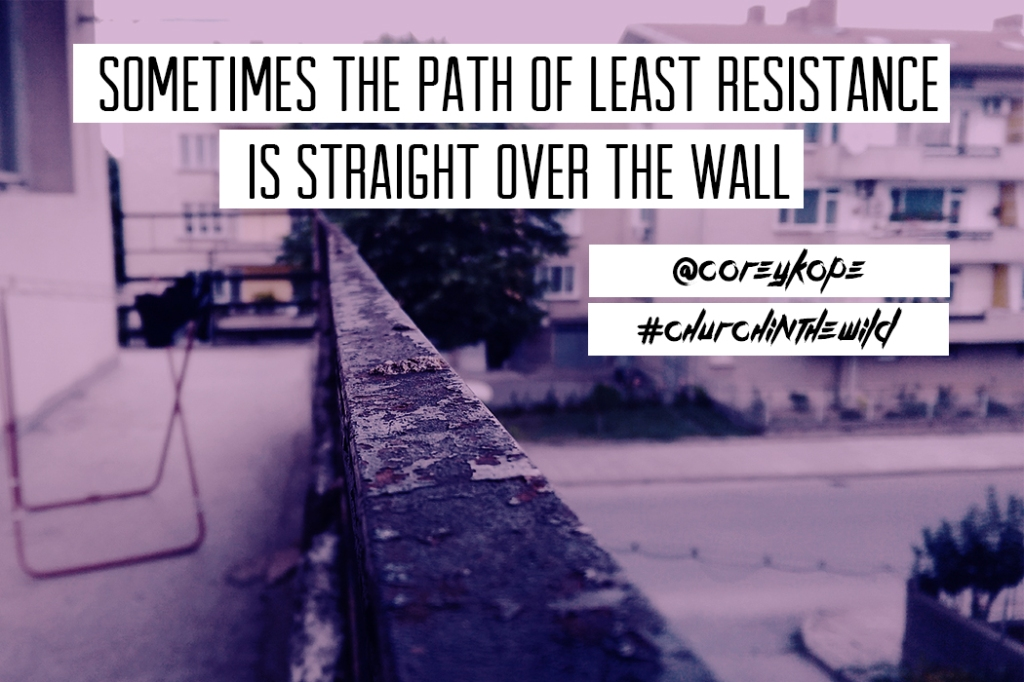 Path to least resistance
